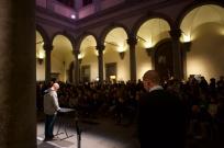 Progetto Primavera 2015 Tempo Reale presenta Bob Ostertag. Cortile di Palazzo Strozzi, Firenze