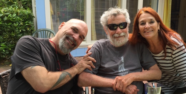 With Don Buchla and his partner Yannick